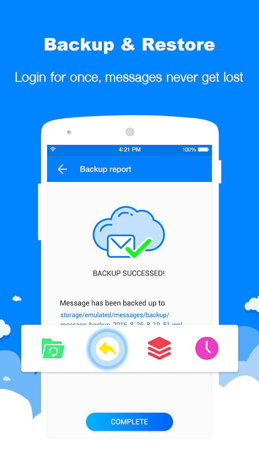Messenger - SMS, MMS App- screenshot