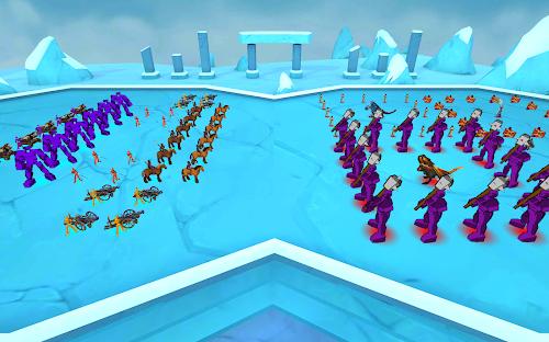 Screenshot 4 Epic Battle Simulator 1.6.50 APK MOD
