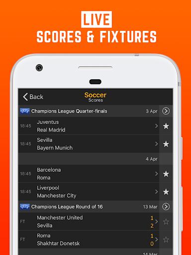 LiveScore: Live Sport Updates 3.0.9 screenshots 1