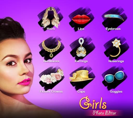 Girls Photo Editor - Women Saree & Fashion 1.1 screenshots 10