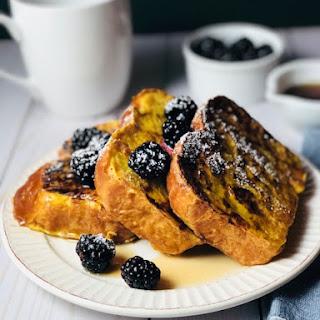 Honey Vanilla Brioche French Toast.