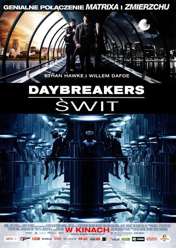 Przód ulotki filmu 'Daybreakers - Świt'