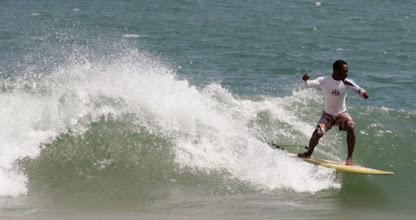 "Photo: Charles, ""french man"" very good surfeur, Busua, west coast, Ghana #Africa #Ghana #Akwidaa #Busua http://www.ezilebay.com/ http://busuainn.com/ http://olivbusua.blogspot.com/"