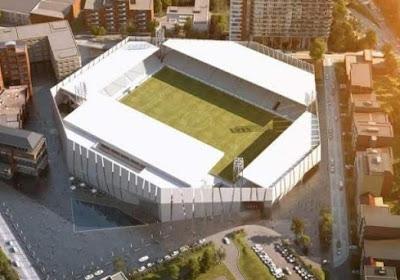 Charleroi apporte des précisions quant à son nouveau stade