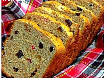 Single Proofing Wholemeal Fruit Loaf