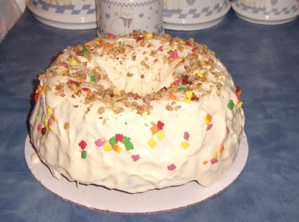 Diabetic Carrot Cake Recipe