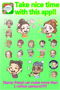 StampFriends -free cute stamps- screenshot thumbnail