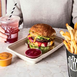 Double Drive-Thru Veggie Burgers
