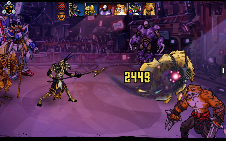 android Mutants: Genetic Gladiators Screenshot 11