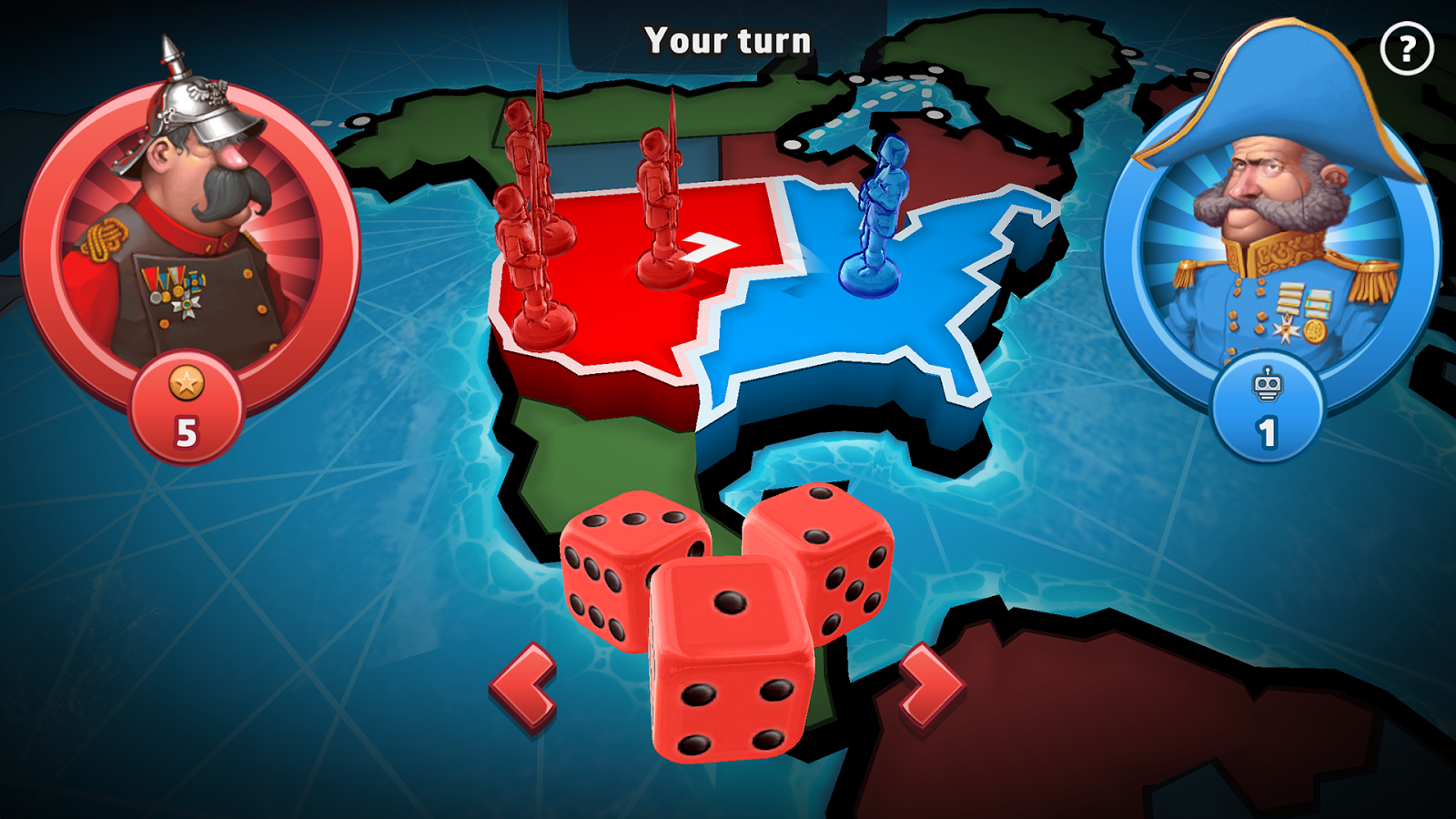 RISK: Global Domination- screenshot