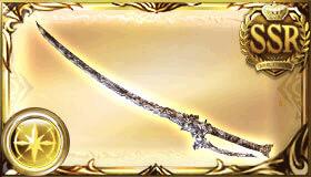 銀の依代の太刀