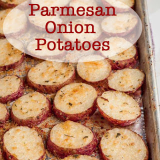 Onion Parmesan Roasted Potatoes