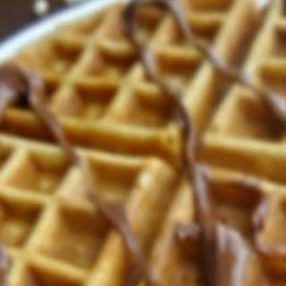 Crispy {Healthier} Waffles.