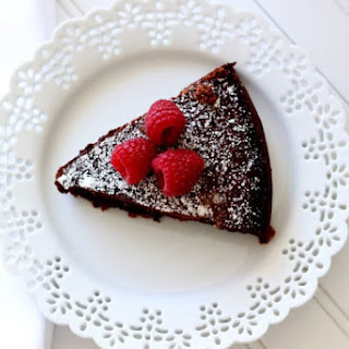 Flourless Chocolate Torte.