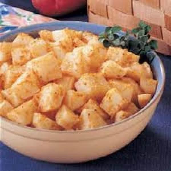 Oven Fried Parmesan Potatoes