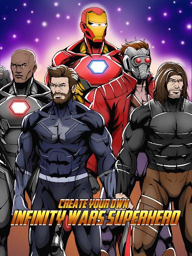 Avengers Infinity Wars SuperHero Creator 1.3 screenshots 1