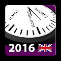 2016 UK Labor Calendar