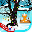 Winter Kitty Game LWP icon