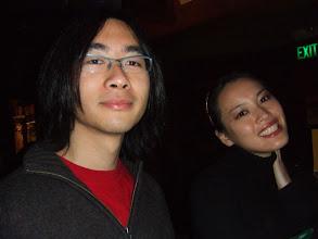Photo: Brad and Yueni