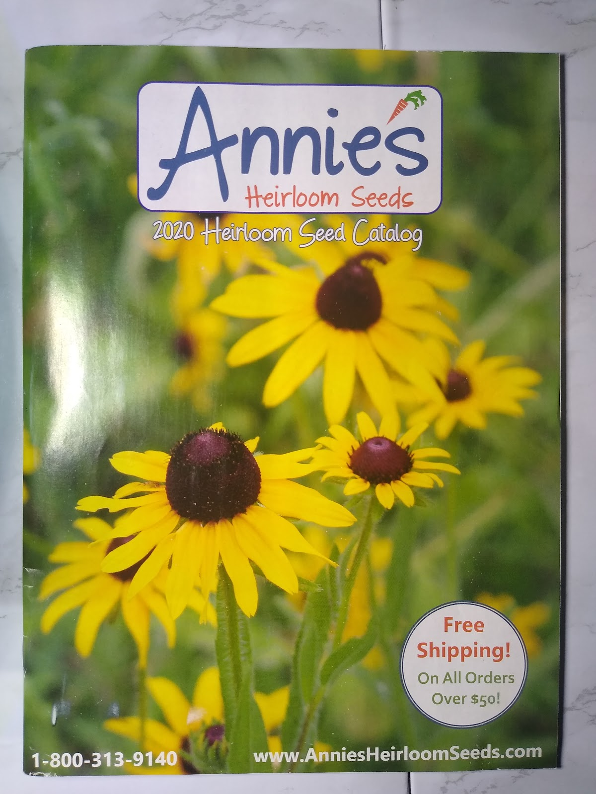 Annie's Heirloom Seeds catalog picture