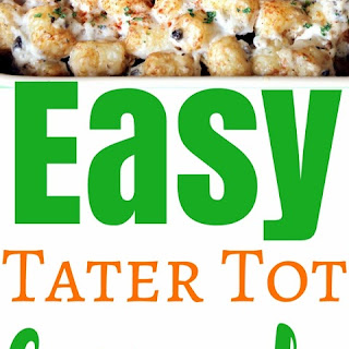 Easy Tater Tot Casserole Recipe