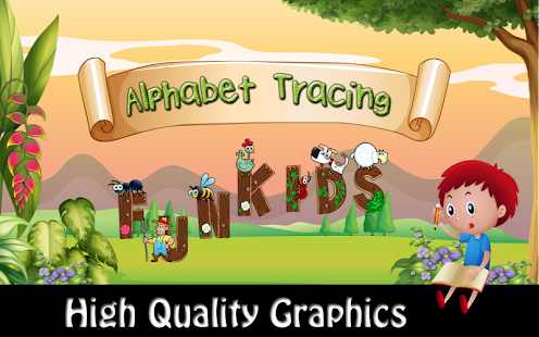 ABC learning and tracing with Phonic for kids - náhled
