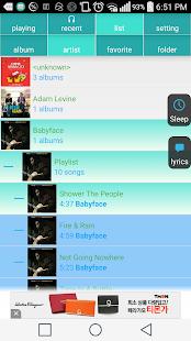 SmartMusicPlayer v2.42,Lyrics- screenshot thumbnail