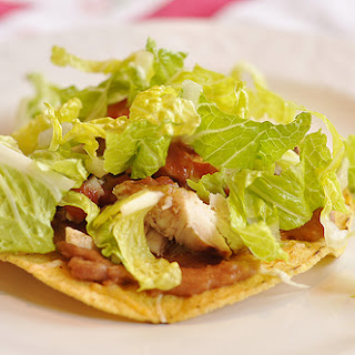 Chicken Tostadas with Favorite Marinade