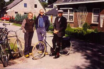 Photo: Harm Zandvoort, Tinus Hofsteenge en Rudolf Lanjouw