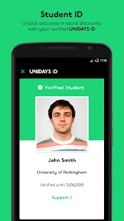 UNiDAYS: Student Deals- screenshot thumbnail