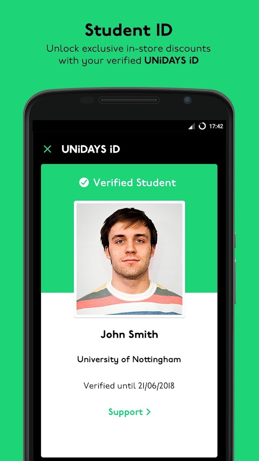 UNiDAYS: Student Discounts- screenshot