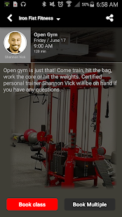Iron Fist Fitness- screenshot thumbnail
