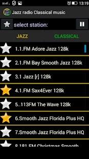 Jazz rádio Klasická hudba - náhled