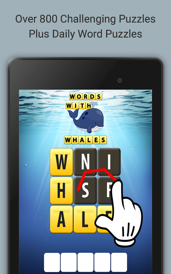Words with Whales- screenshot