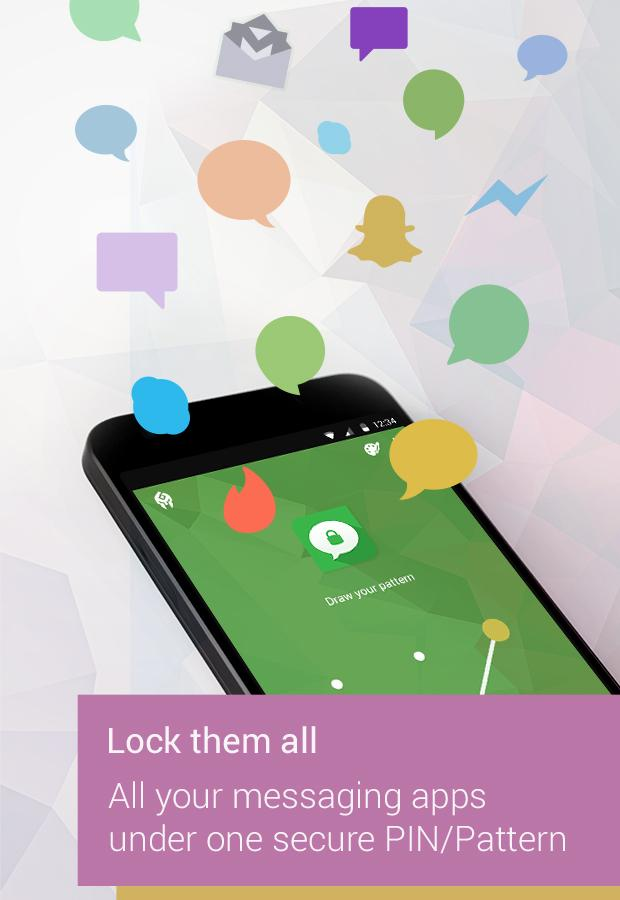Message Locker – SMS Lock– captură de ecran