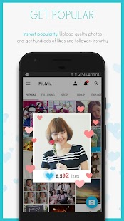 PicMix - Photos in Collages- screenshot thumbnail