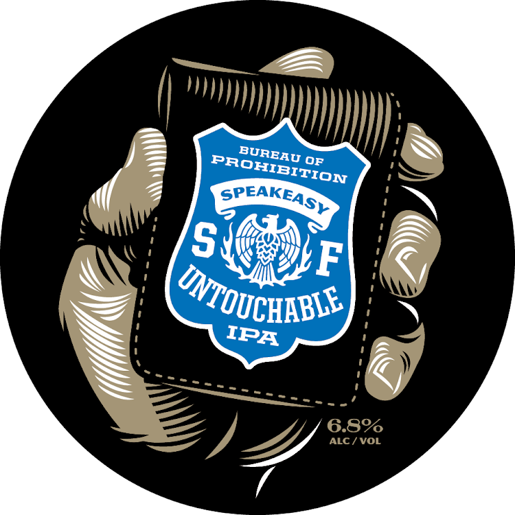 Logo of Speakeasy Untouchable IPA