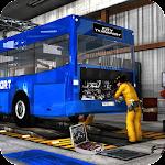 Bus Mechanic Auto Repair Shop-Car Garage Simulator Icon