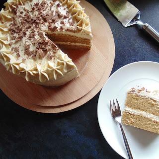 Vanilla Latte Cake.