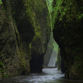 Oneida Gorge by Stephen Berry - Landscapes Caves & Formations ( oneida gorge )