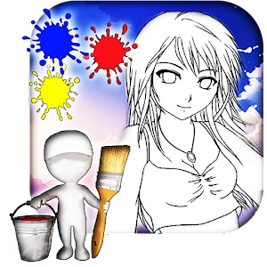 Anime Coloring Book Android Apps On Google Play Anime Coloring Book