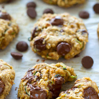 Healthy Zucchini Oat Breakfast Cookies