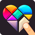 Polygrams - Tangram Puzzle Games icon