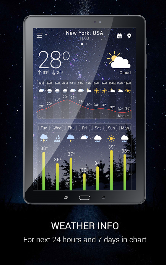 Weather- screenshot