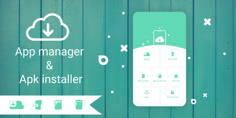 AppManager: Move To SD Card, Backup, APK Installer Screenshot 0