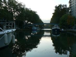 Photo: l'eau verte du canal du midi ...... Claude NOUGARO (Toulouse)