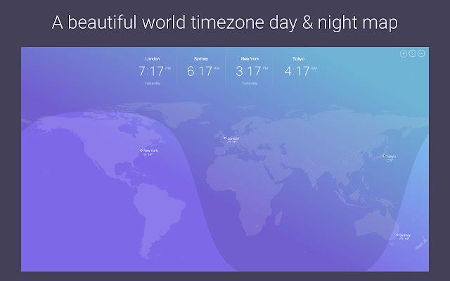 Omni World Timezone Map