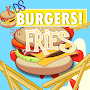 Kids BURGERS & Fries!!
