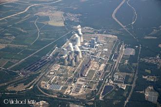 Photo: Et kullkraftverk i Tyskland på vei mellom Mnichovo og Barth.