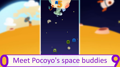 Pocoyo 1, 2, 3 Space Adventure: Discover the Stars apkpoly screenshots 6
